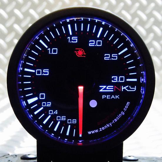Manomètre Pression de Turbo 3 BAR - Série PRO 3 | 52 mm | 150 Couleurs