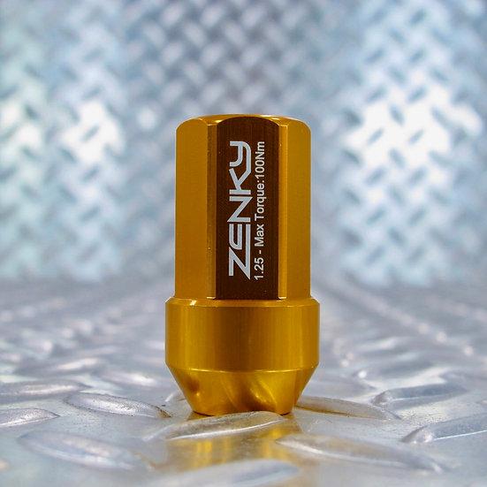 Ecrous de Roue - Aluminium Forgé - Z45 - 45 mm - Jaune