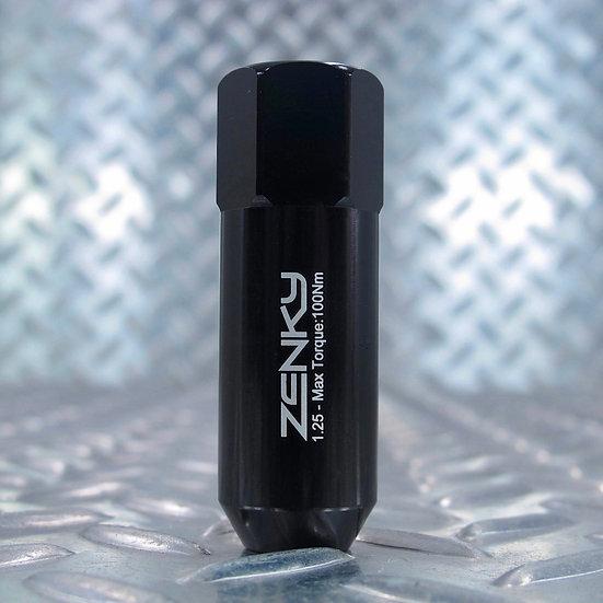 Ecrous de Roue - Aluminium Forgé - Z60 - 60 mm - Noirs - 20 pcs