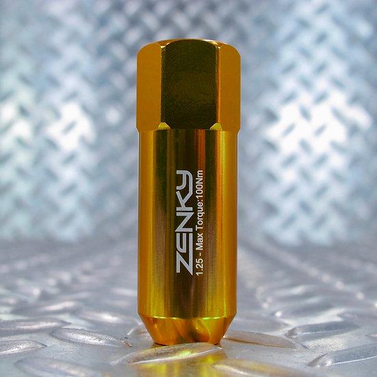 Ecrous de Roue - Aluminium Forgé - Z60 - 60 mm - Jaune