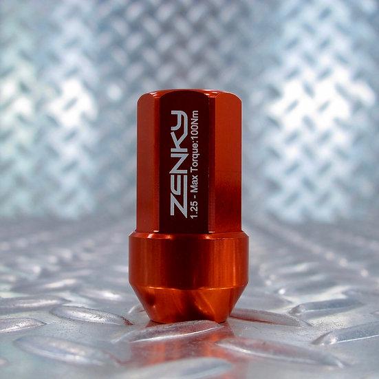 Ecrous de Roue - Aluminium Forgé - Z45 - 45 mm - Orange - 20 pcs