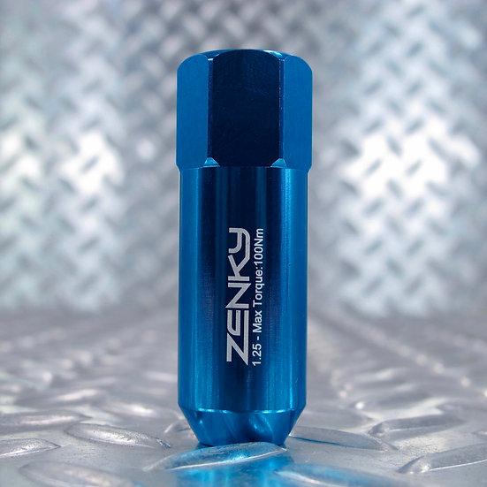 Ecrous de Roue - Aluminium Forgé - Z60 - 60 mm - Bleu Clair