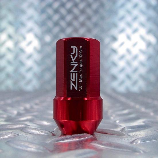 Ecrous de Roue - Aluminium Forgé - Z45 - 45 mm - Rouge