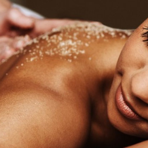 Full Body Massage with Body Scrub