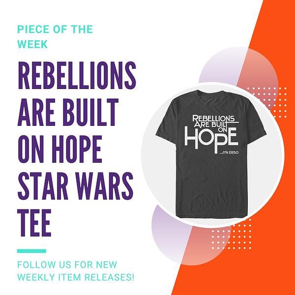 Piece of the Week Rebellions Logo Tee.pn