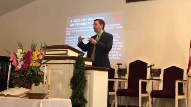 Zion Pentecostal Church AM service 8.26.18