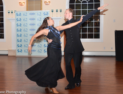 Prima Dancesport performs at Charity Event for Postpartum Depression Awareness: Pictured- Kathryn Go