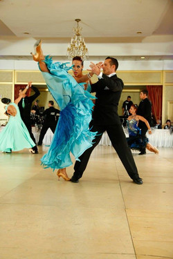 Prima Dancesport strikes a pose at professional Ballroom Competition