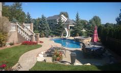 Backyard Pool Show