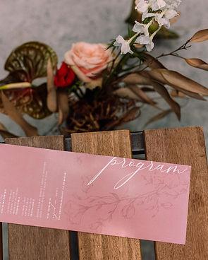 wedding stationery design