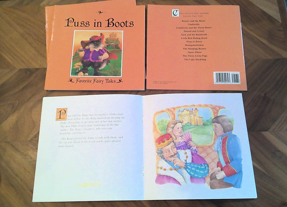 Puss in Boots Book Set