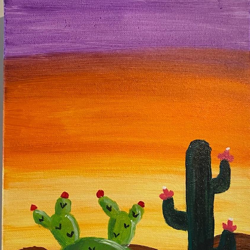 Family Friday: Desert Cactus