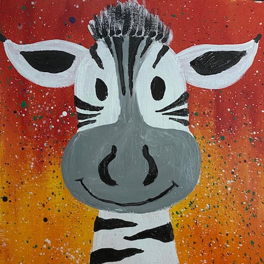 Splatter Zebra