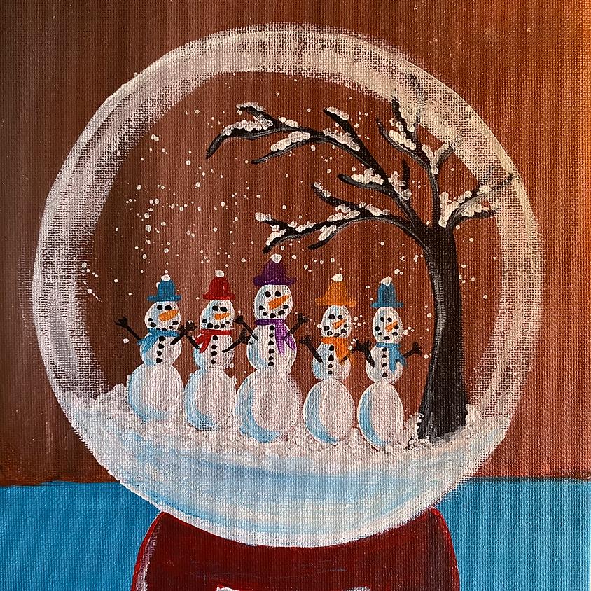 January Painting Parties: Winter Wonderland