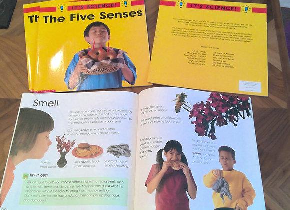 The Five Senses Book Set