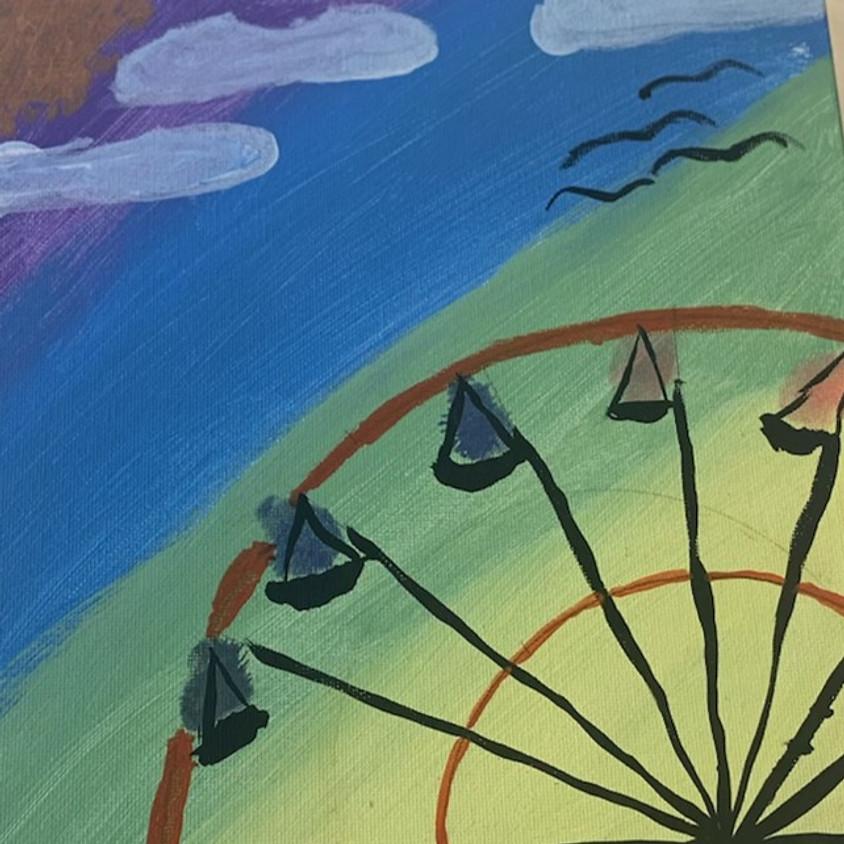 Family Friday: Daytime Ferris Wheel
