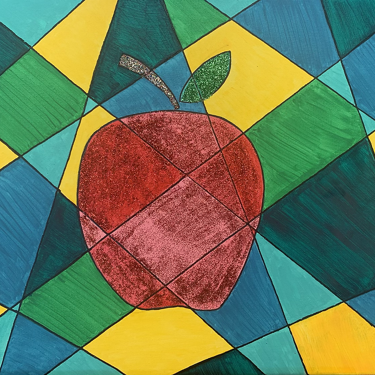 Fractured Apple