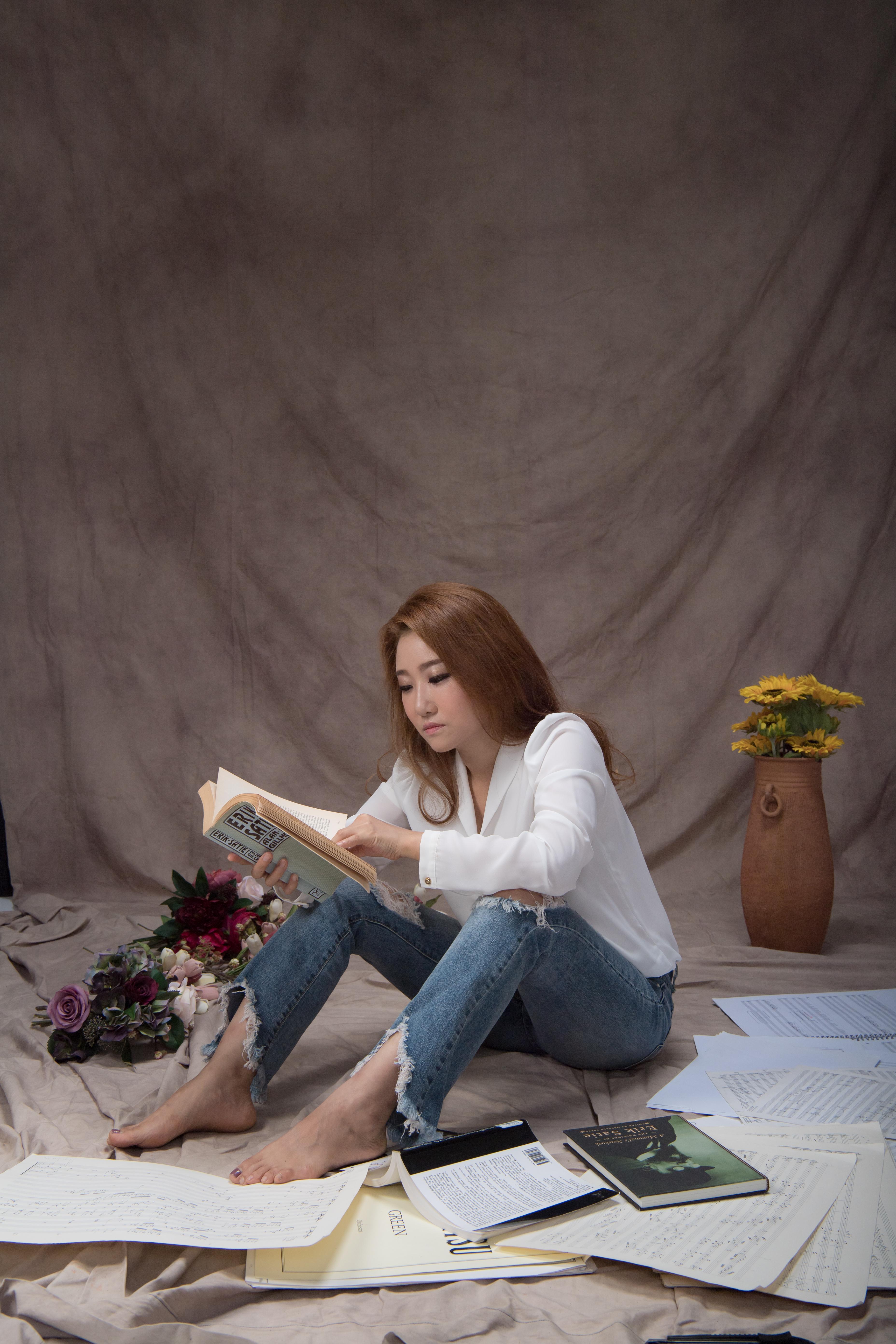 작곡가 안성희 내지 프로필 사진