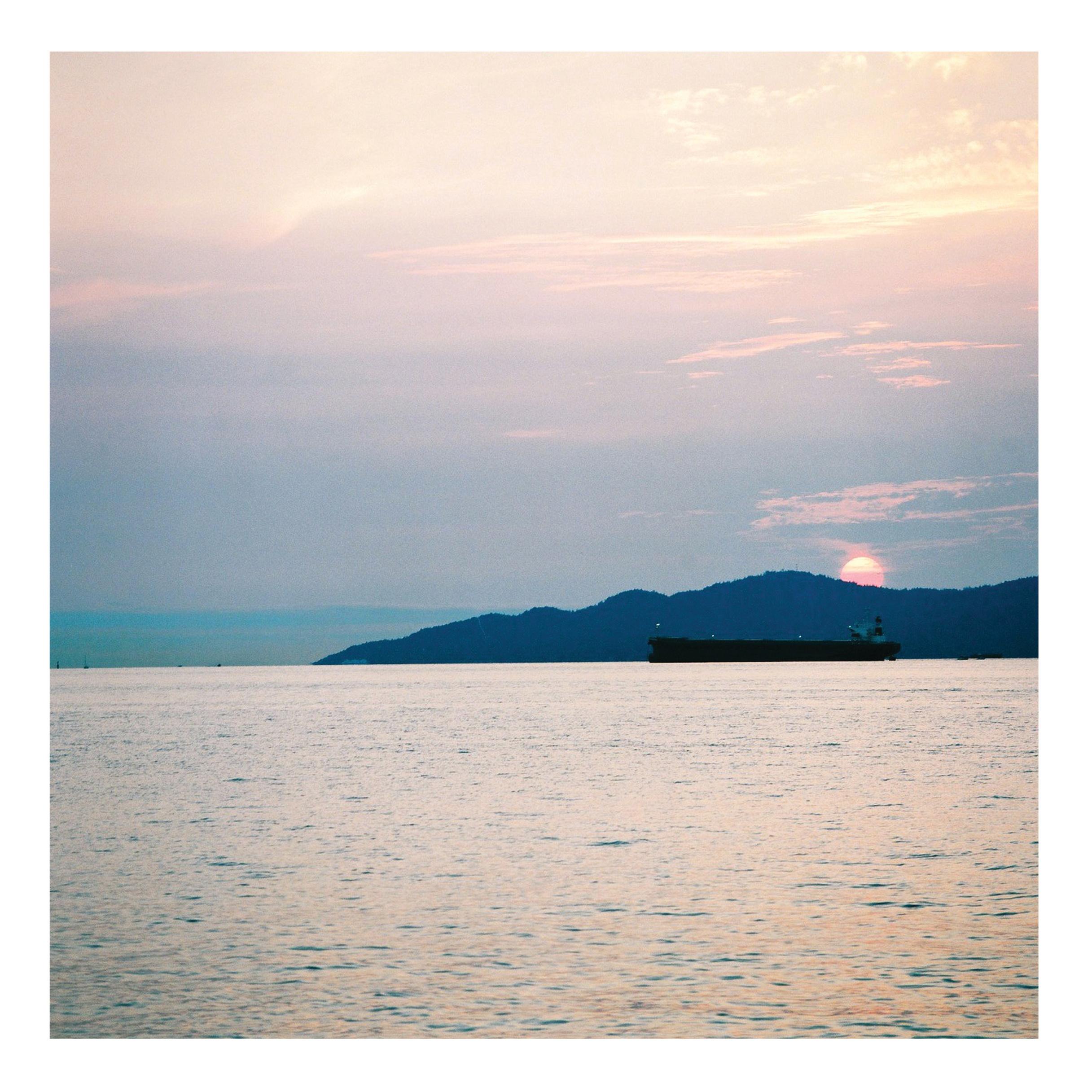165. 태평양의 석양