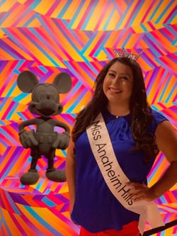 Miss Anaheim Hills 2019 and Mickey