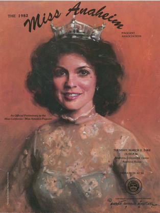 1982 Miss Anaheim Program Book