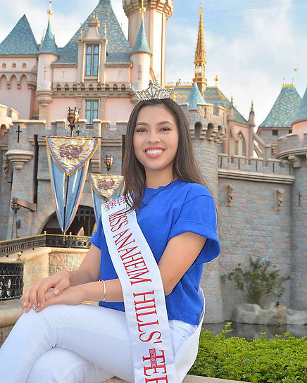 Miss Anaheim Hills' Outstanding Teen 2018