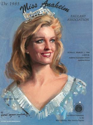 1985 Miss Anaheim Program Book