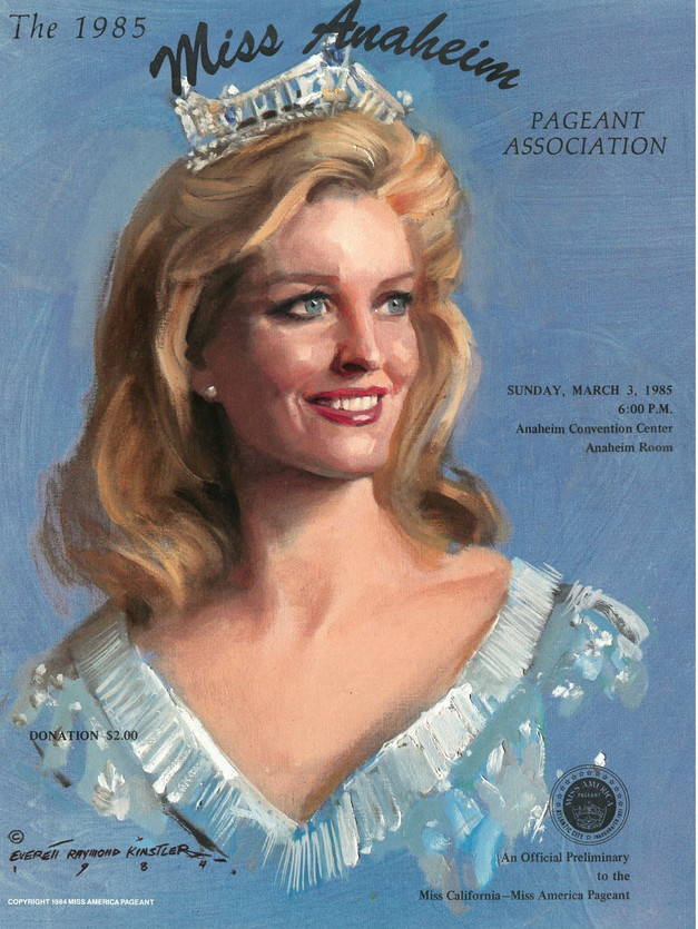 1985 Miss Anaheim Program Book