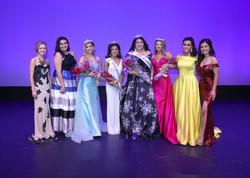 MISS ANAHEIM Contestants and Court (Miss