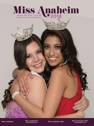 2018 Miss Anaheim Program Book