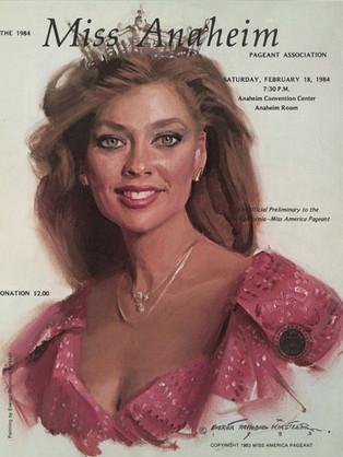 1984 Miss Anaheim Program Book