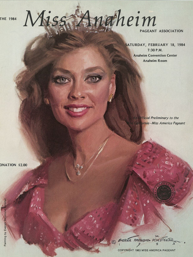 1984 Miss Anaheim Program Book