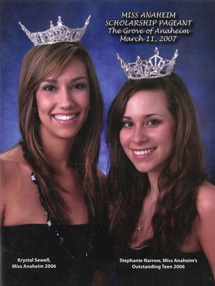 2007 Miss Anaheim Program Book