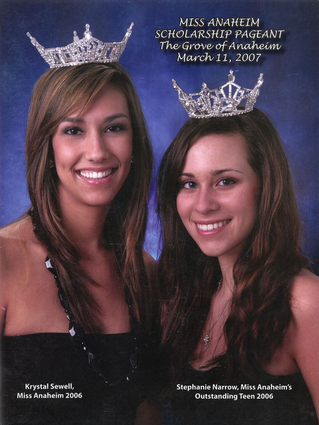 2007 Miss Anaheim Program Book