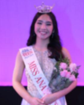 Miss Anaheim's Outstandng Teen 2020
