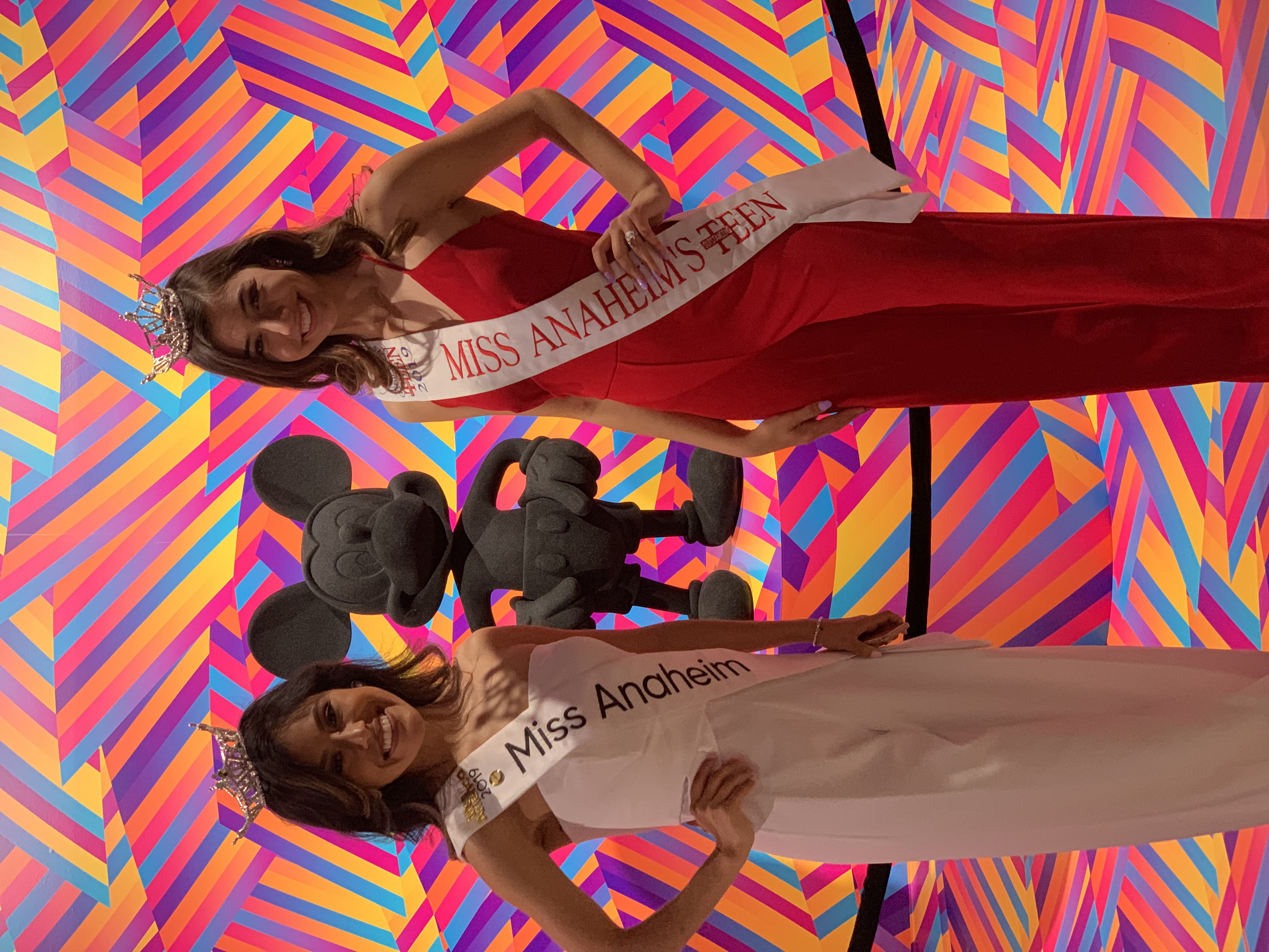 Miss Anaheim and Teen 2019