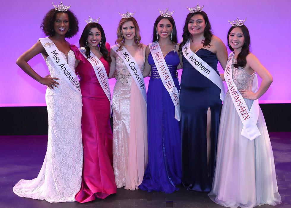 2020 Miss Anaheim Program Titleholders