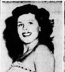 Arlene Anderson   Miss Anaheim 1951