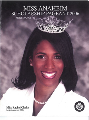 2006 Miss Anaheim Program Book Cover