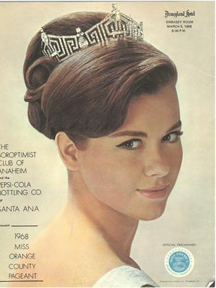 1968 Miss Orange County Program Book