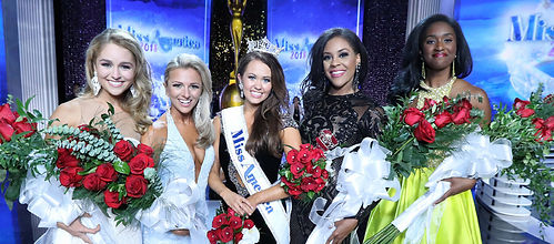 Miss America 2018, Cara Mund, and Court