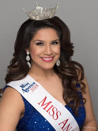 J.R. Nessary   Miss Anaheim 2018