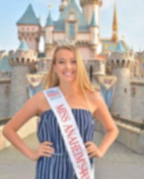 Miss Anaheim's Outstanding Teen 2018
