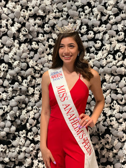 Miss Anaheim's Outstanding Teen 2019