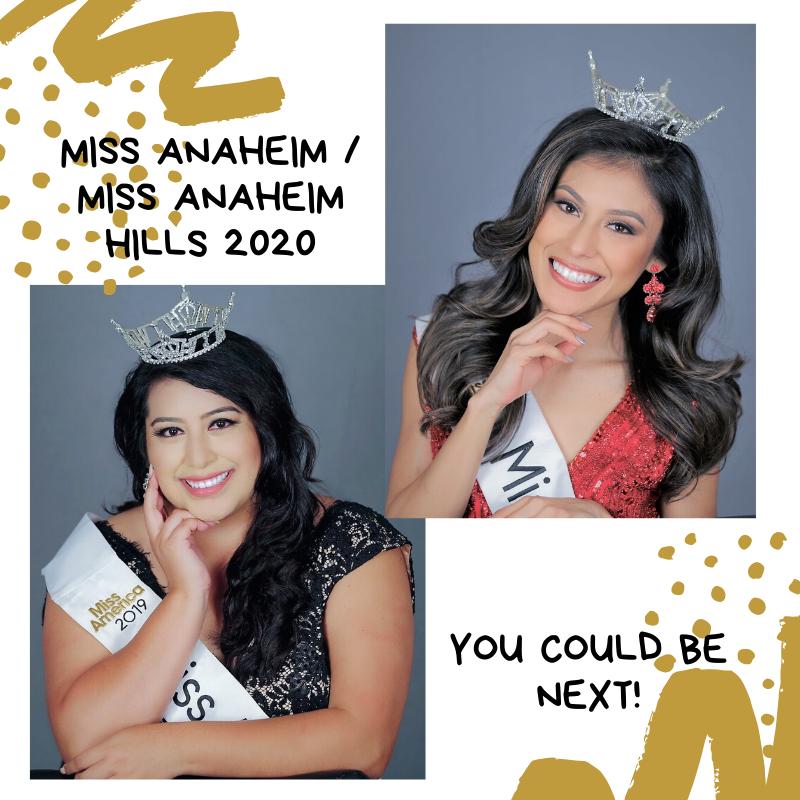 Miss Anaheim and Miss Anaheim Hills 2019