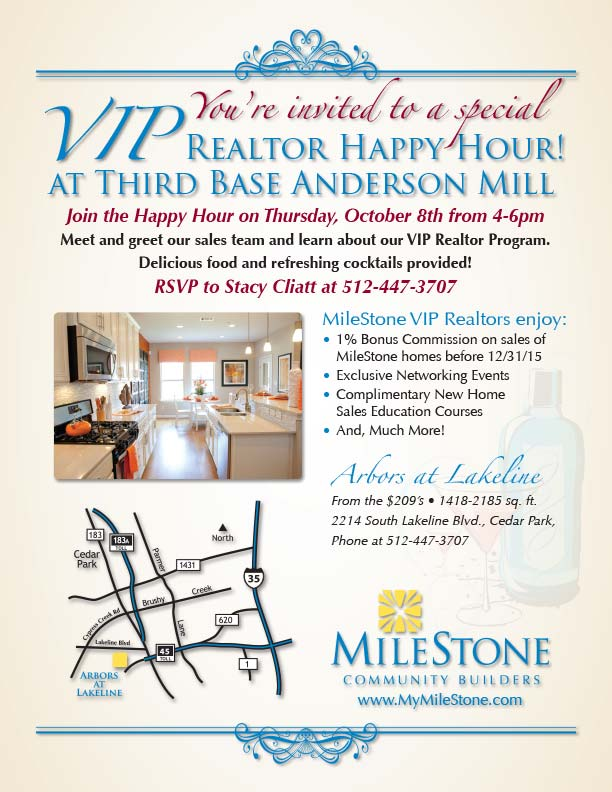 MCB_ArborsLakeline_Realtor_HappyHour_Flyer