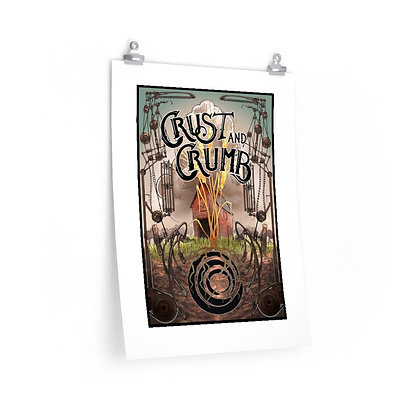 Crust and Crumb Bakery Poster