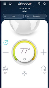 smart thermostat app - support center