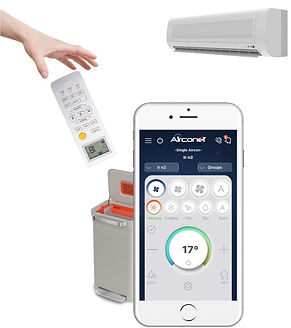 replace your ac remote control with smartphone