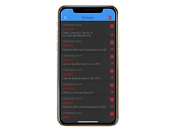 Airconet alert and notifications